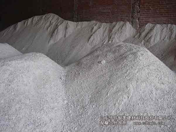 石粉对减水及效果的影响
