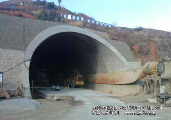 隧道工程竞技宝官网外加剂要求
